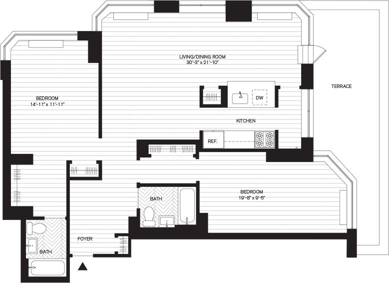 Learn more about Residence A, Floor 8