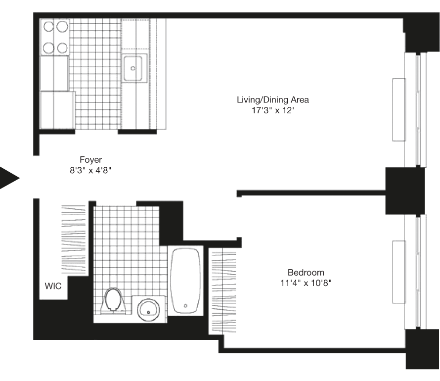 Learn more about Residence B, Floor 30