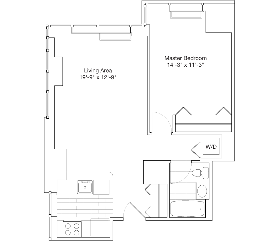 Learn more about Residence B Floors 26-29