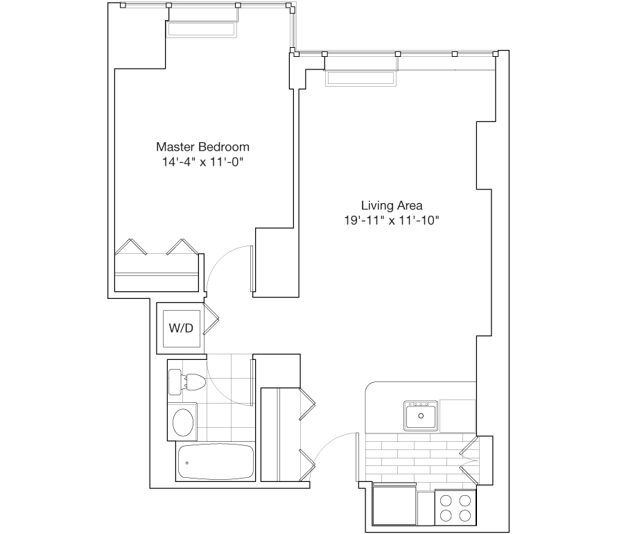 Learn more about Residence C, Floors 15-24