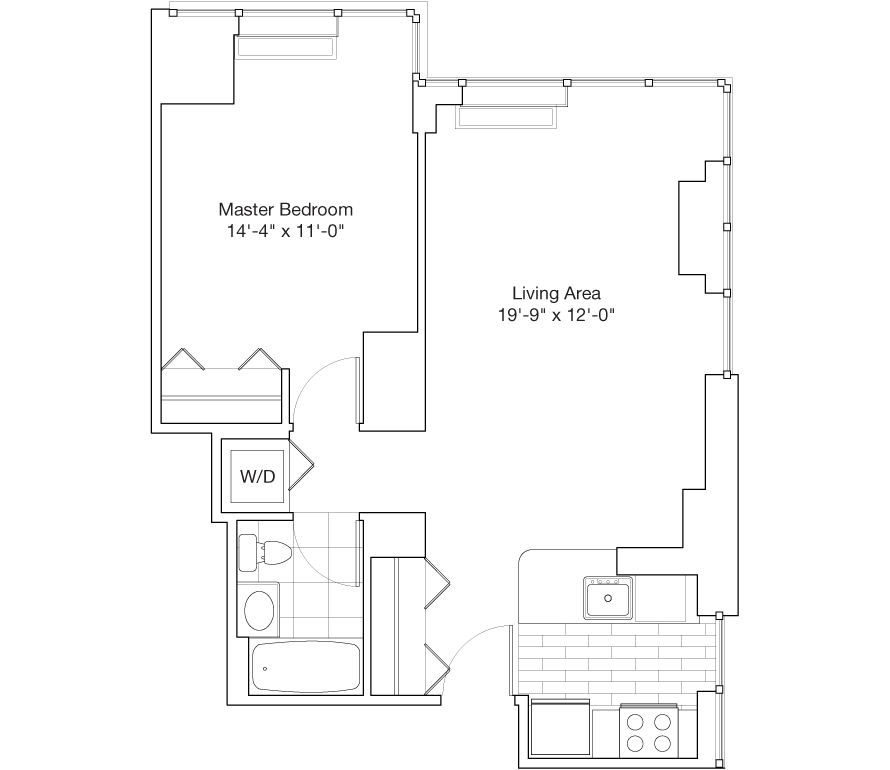 Learn more about Residence C, Floors 30-45, 47