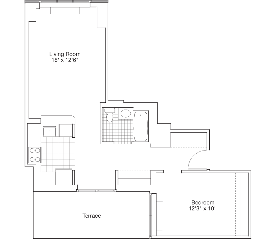 Learn more about Residence D, Floors 3