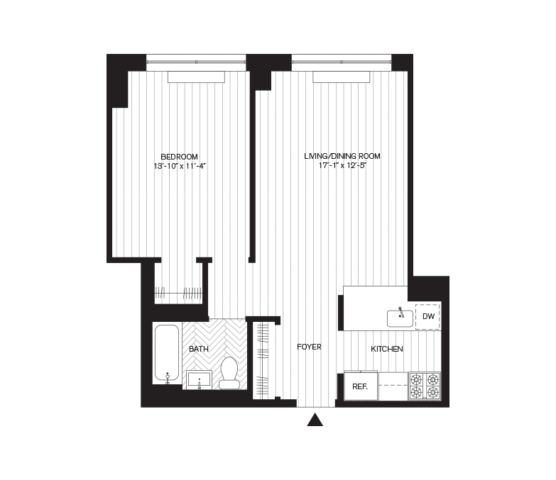 Learn more about Residence D, Floors 9-29