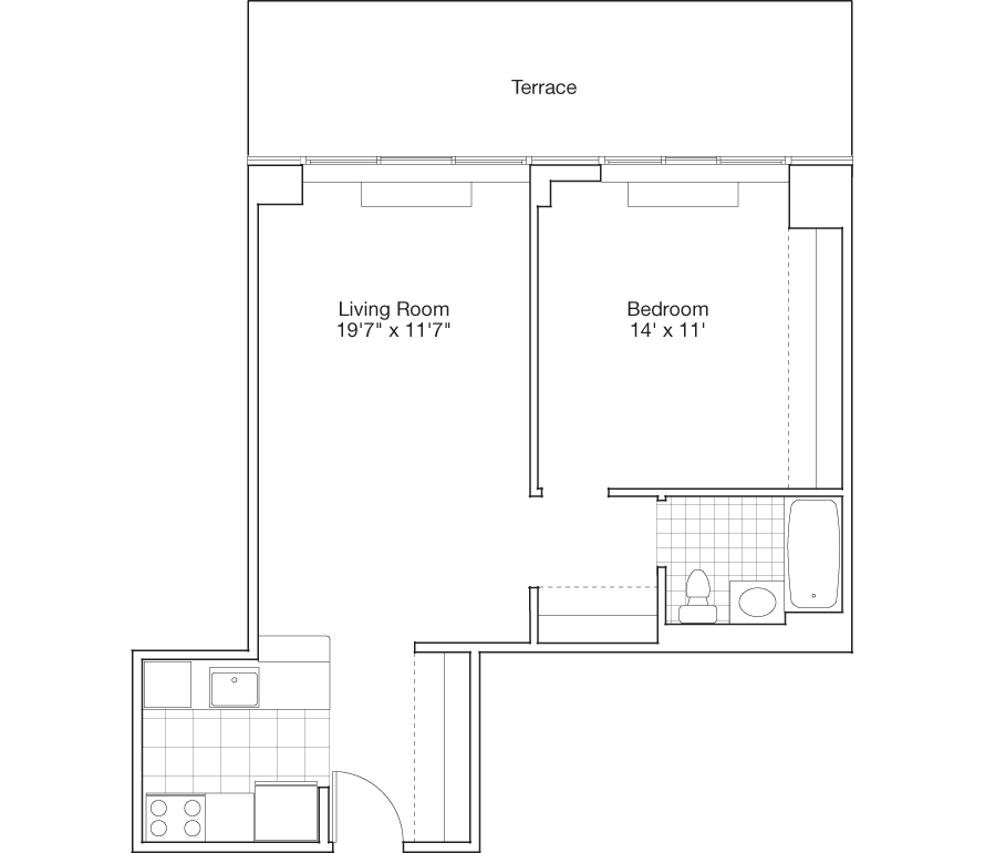 Learn more about Residence E, Floor 8