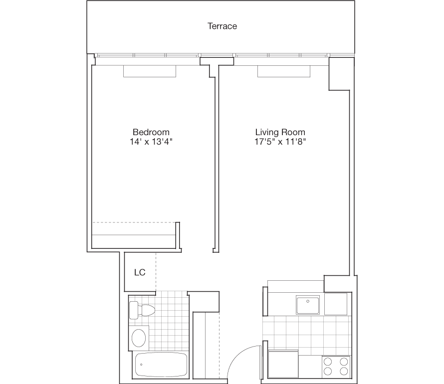 Learn more about Residence F, Floor 8