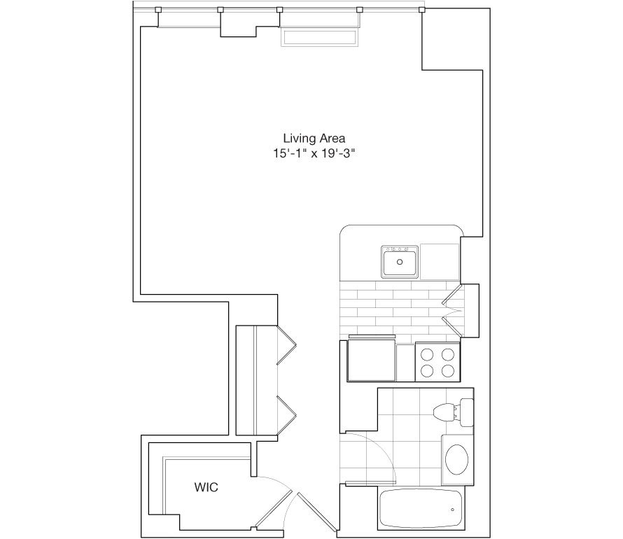 Learn more about Residence F, Floors 35-38