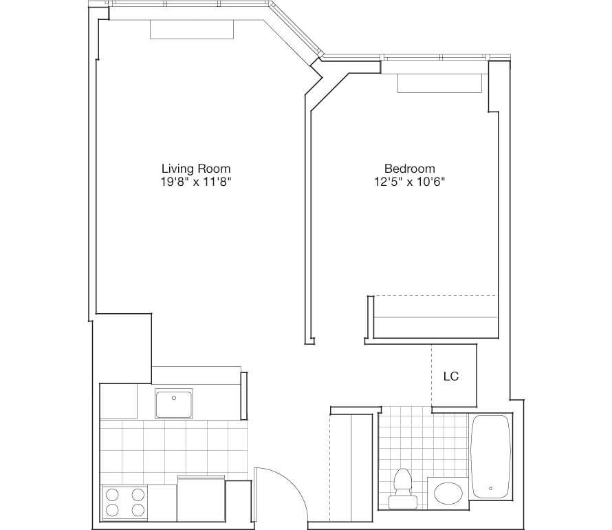 Learn more about Residence G, Floors 9-45