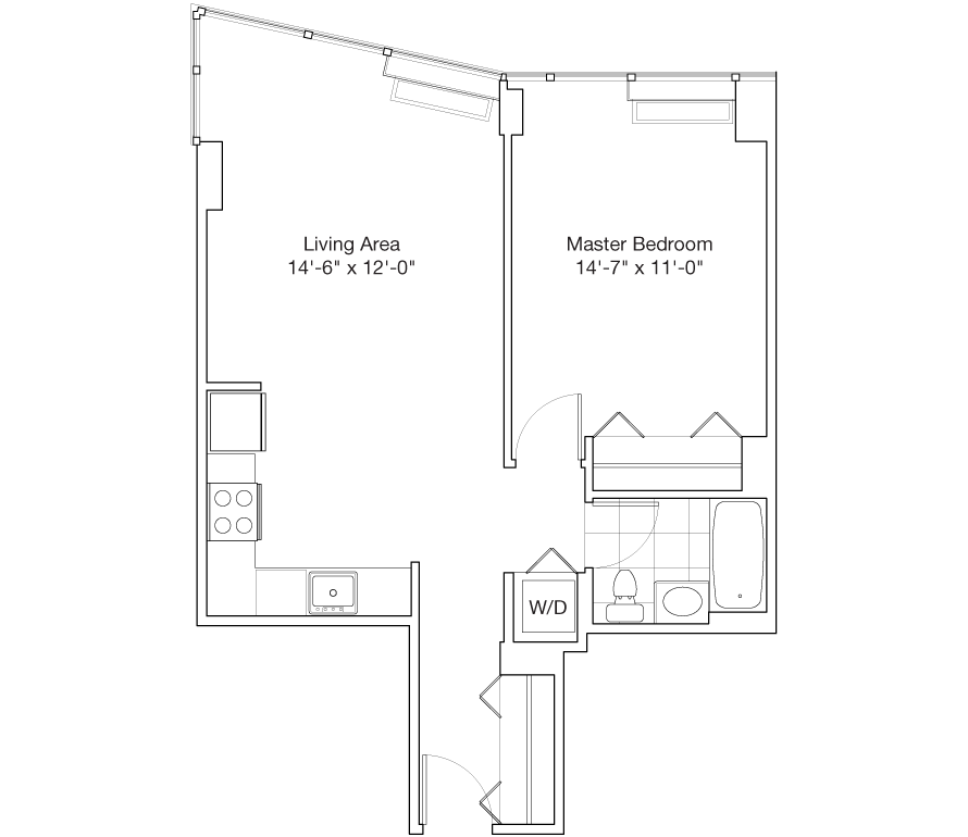 Learn more about Residence H, Floors 48-59