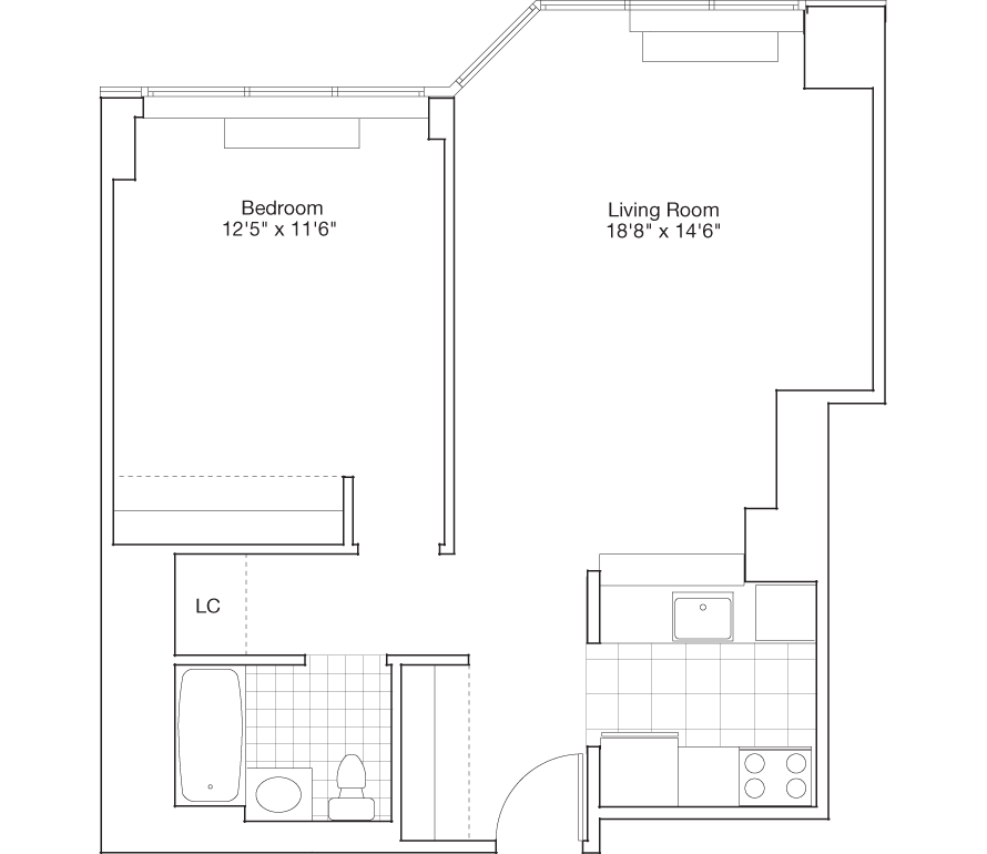 Learn more about Residence H, Floors 9-45