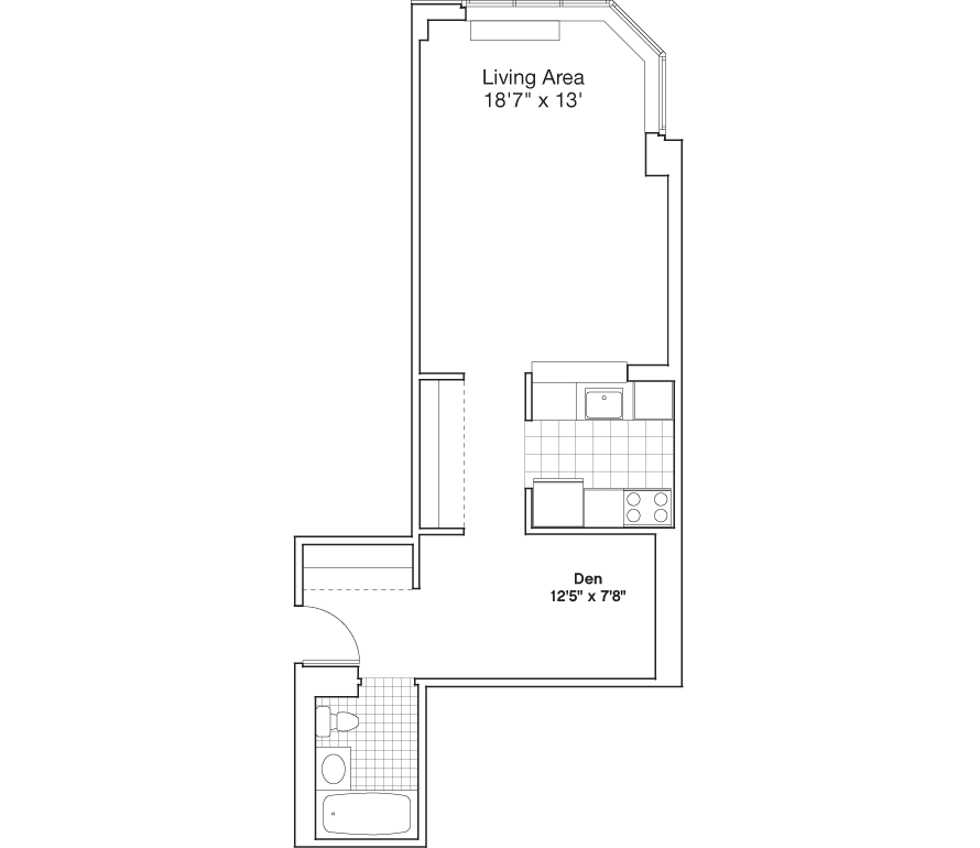 Learn more about Residence I, Floors 3-7