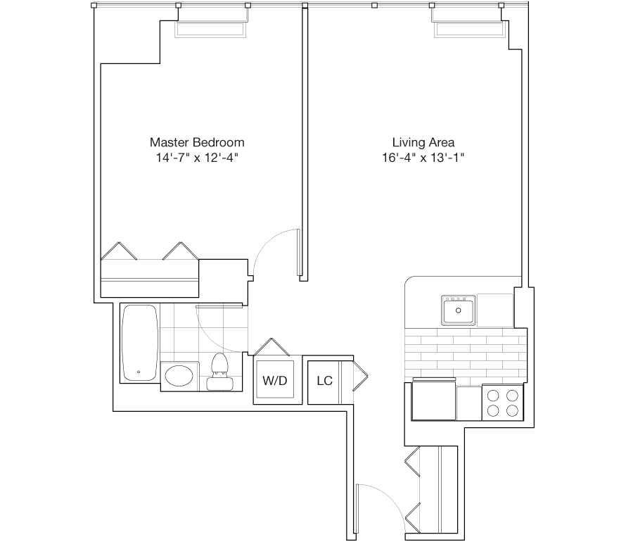 Learn more about Residence J, Floors 14-25